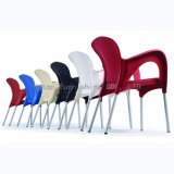 Stacking Restaurant Fast Food Canteen Plastic Arm Chair (sp-uc254)