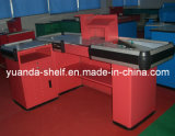 Supermarket Shop Store Cash Metal Checkout Counter for Sale