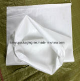 White Plastic PP Woven Bag Packaging for Food