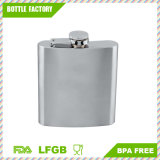 6oz 18/8 #304 Stainless Steel Premium/Heavy Duty Hip Liquor Flasks