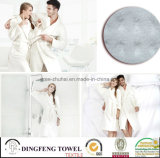 New Fashion 100% Cotton High Quality Super Soft Bathrobe with Embrodiery Logo Df-8819