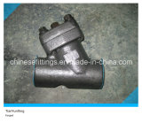 A105 Carbon Steel Forged Threaded Y Strainer