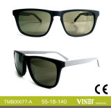 Handmade Sunglass Acetate Sunglass with Top Quality (77-A)