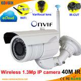 Wireless Varifocal IR 1.3 Megapixel Onvif P2p Network IP Camera
