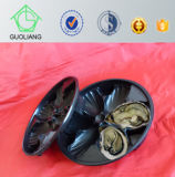 China Made Ome Accept Seafoods and Frozen Food Industry Use Plastic Seafood Tray for Oyster Packaging with Food Safety Standard