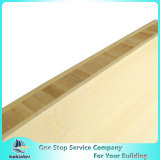 Vertical Single Ply 4mm Natural Edge Grain Bamboo Panel for Furniture/Worktop/Floor/Skateboard