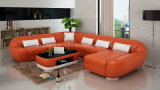 G8022 Fancy Design Comfortable Leather Sectional Sofa