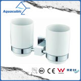 Wall-Mounted Chromed Double Tumbler Holder (AA6815B)
