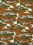 Neoprene Coated with Camouflage Fabric