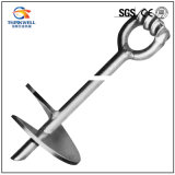 Forged Galvanized Screw Helix Earth Anchor