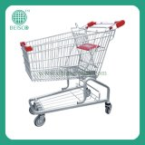 Metal Shopping Supermarket Trolley Cart (JS-TAS01)