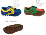 No. 50017 Lace up Boy′s Kid Sport Shoes Two Colors