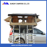 Camping Waterproof Double Ladder Family Safari Car Roof Top Tent
