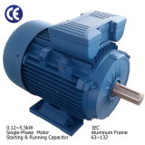 Aluminum Frame CSR Single-Phase Electric Motor (IEC 0.12-5.5kW)