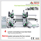 Aluminum Window and Door Machine 4 Head Corner Crimping Machine with 1 Time Finish Process