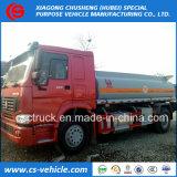 Heavy Duty Sino Truck HOWO 4X2 266HP Oil Transport Truck 15000liters Fuel Tank Truck for Sale