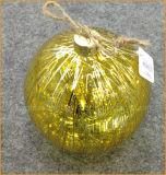Shiny Golden Christmas Glass Ball