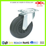 Caster Wheels for Garbage Bin Series with Black Rubber (P101-31C150X40)