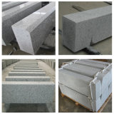 Hot Selling Flamed Finish G603 Lunar Pearl Grey Granite Side Stone Curbstone