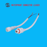 2 Pin AWG12-24 Waterproof Grounding Connector Electrical Plug