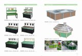 Supermarket Fruits and Vegetable Shelf with High Quality