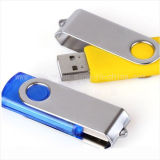 OEM Swivel Plastic 1-32GB Customized Logo USB Flash Drive