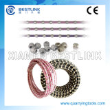 Diamond Wire for Marble Profiling and Square Cutting (cutting tools, saw wire)