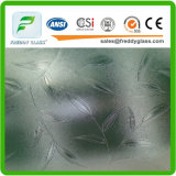 2.5mm High Quality Rolledglass of Clear Flora Patterned Glass
