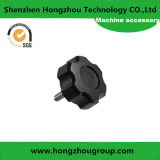Five Star Black Plastic Knob with High Quality