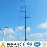 Electric Power Transmission Monopole Steel Tower