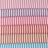 2 mm Stripes Twill Yarn Dyed Shirt Fabric