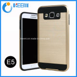 PC+TPU Slim Armor Mobile Phone Case for Samsung E5