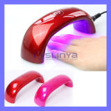 Portable 9W UV LED Lamp Nail Dryer Mini Nail Lamp Rainbow Curing UV Gel (UV506)