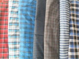 Various Patterns Yarn Dyed Shirt Fabric with Good Color Fastness