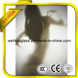 8-19mm Frosted Glass Interior Doors with CE/ISO9001/CCC