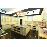 European Style MDF Kitchen Cabinet Furniture with PVC Door