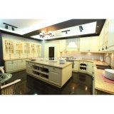 European Style MDF Kitchen Cabinet Furniture with PVC Door