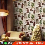 Deep Embossed Vinyl Wallpaper with High Quality Pi106201