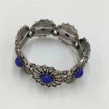 Vintage Alloy Fashion Bracelet Resin Stone Jewelry Bracelet