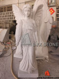 Granite Angel Monument Statue / Headstone Sculpture for Cemetery
