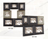 Wooden Draft Collage Photo Frame for Home Decoration
