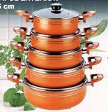 10PCS Aluminum Non-Stick Cookware Set