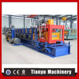 Light Frame Steel Building C-U Purline Roll Forming Machine with Software