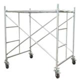 Mobile Aluminum Scaffold for Concrete Construction