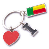 New Custom Metal Souvenir Benin Keyring