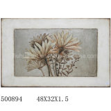 Popular Great Quality Graceful Flower Handmade Oil Painting (LH-500894)