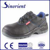 Split Leather Steel Toe Industrial Safety Shoes for Construction