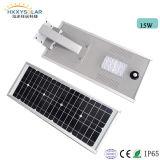 High Lumen Integrated Solar LED Street Lights 15W for Square