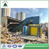 Scrap Carton Baling Press Machine Waste Paper Baler