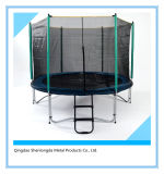 8 FT Outdoor Trampoline with Safety Enclosure Outdoor Equipment3